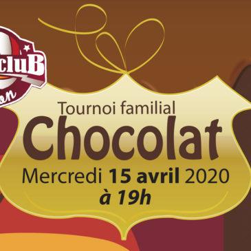 Tournoi familial CHOCOLAT