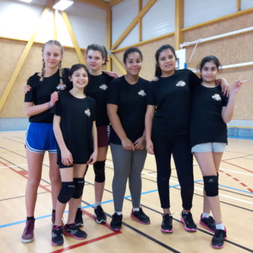 Le premier tournoi de Volley Minimes Filles