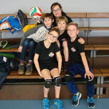 4 février 2017 – Minimes Filles et Poussins 1&2 un vrai bonheur pour les coachs!