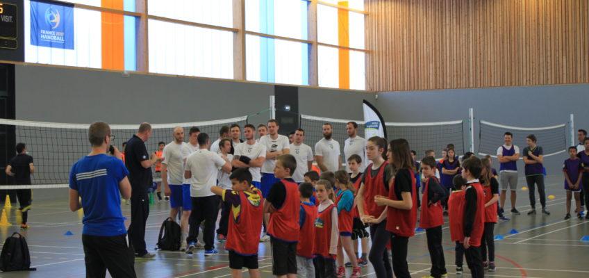 Après-midi avec Nantes Rezé Métropole Volley – 29 mars 2017