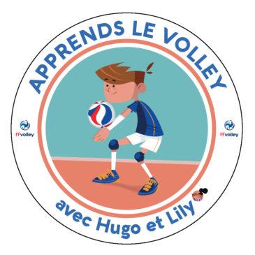 Apprends le volley avec Hugo & Lili