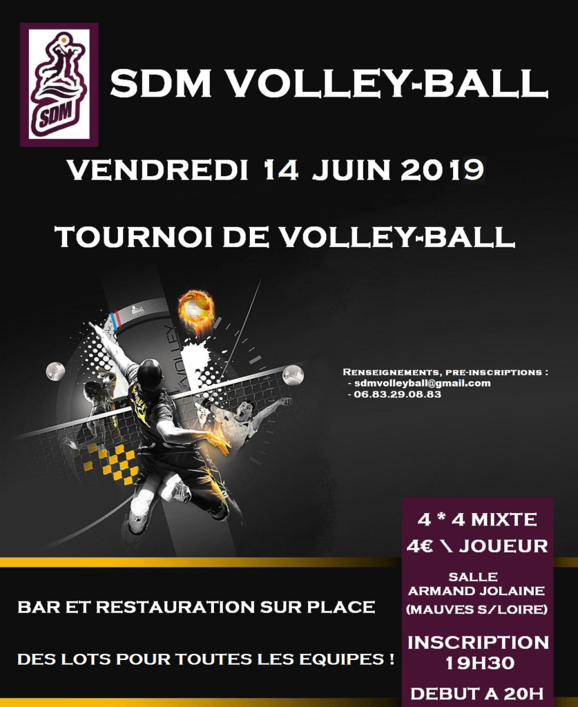 Affiche-sdm-volley